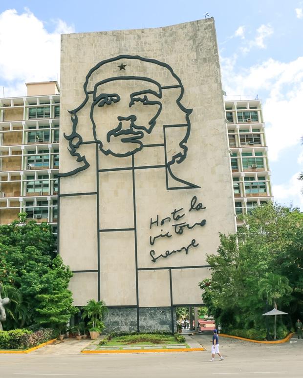 Che Guevara em Havana