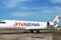Amaszonas Paraguay voa para o Brasil