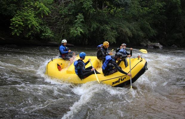 Serra Gaúcha: rafting com a Central Sul Raft