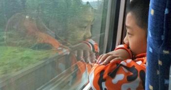 Como viajar de trem bala na China