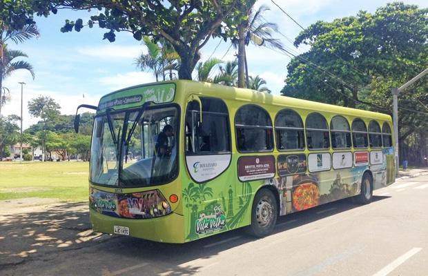 Ônibus turístico de Vila Velha
