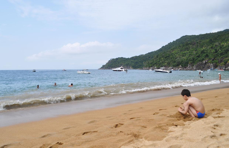 Onde ficar em Ilhabela: Praia da Armação