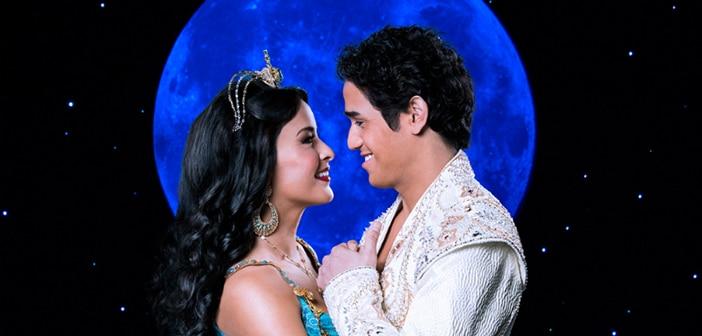 O divertido musical Aladdin na Broadway