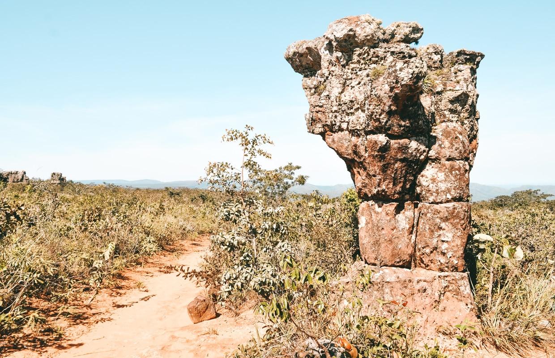 Cidade de Pedra, na Chapada dos Guimarães
