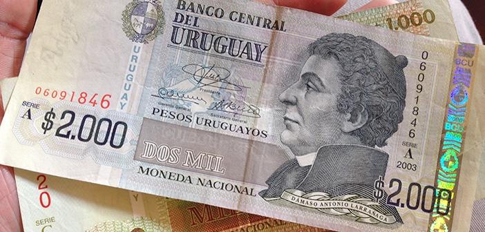 Dinheiro no Uruguai: câmbio, saques e descontos