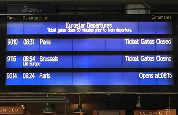 Como ir de Londres a Paris pelo Canal da Mancha