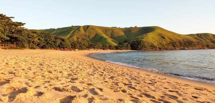 Beleza e sossego na praia do Toque-Toque Grande