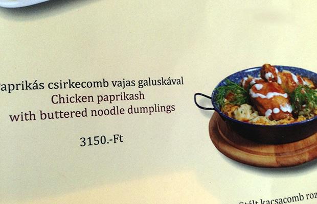 Onde comer em Budapeste