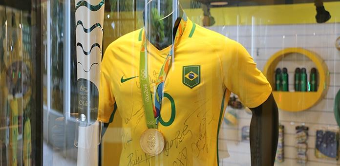 Como é visitar o Museu da Seleção Brasileira