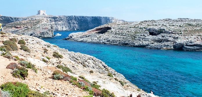 Ilha de Camino: o passeio na Lagoa Azul