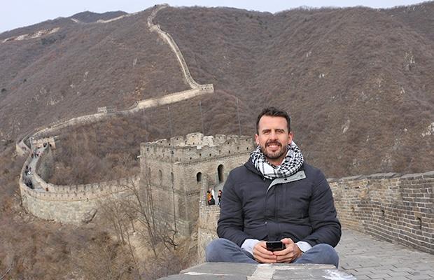 Como é visitar a Muralha da China