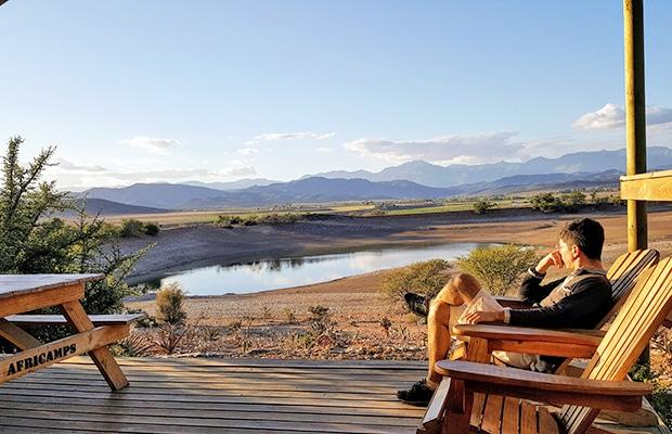 Como é se hospedar em uma tenda na África do Sul