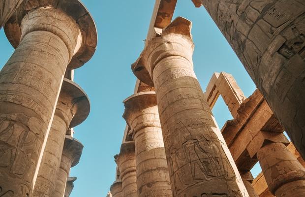 Templo de Karnak, em Luxor