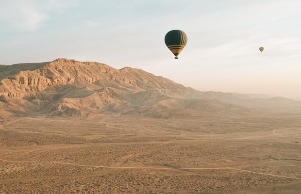 Roteiro de viagem para o Egito