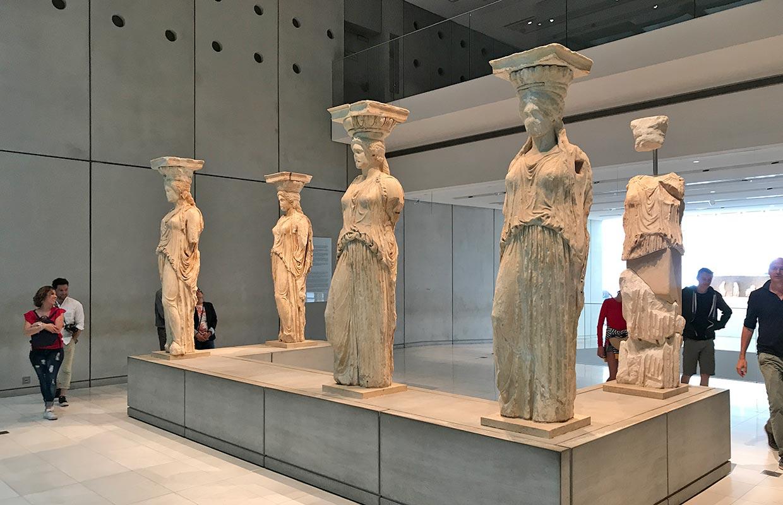 Como é visitar o Museu da Acrópole