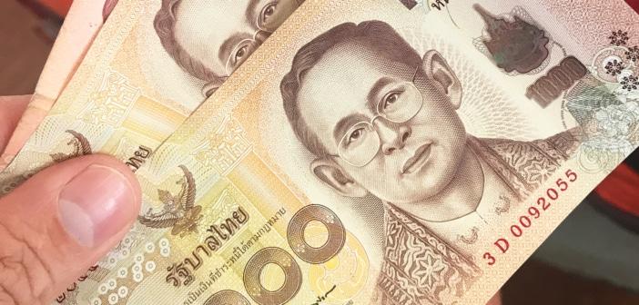 Dinheiro na Tailândia: como fazer o câmbio?