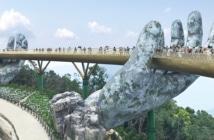 A incrível ponte do Vietnã sustentada por duas mãos