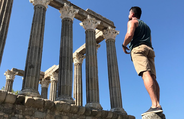Onde ficar em Évora: Templo de Diana