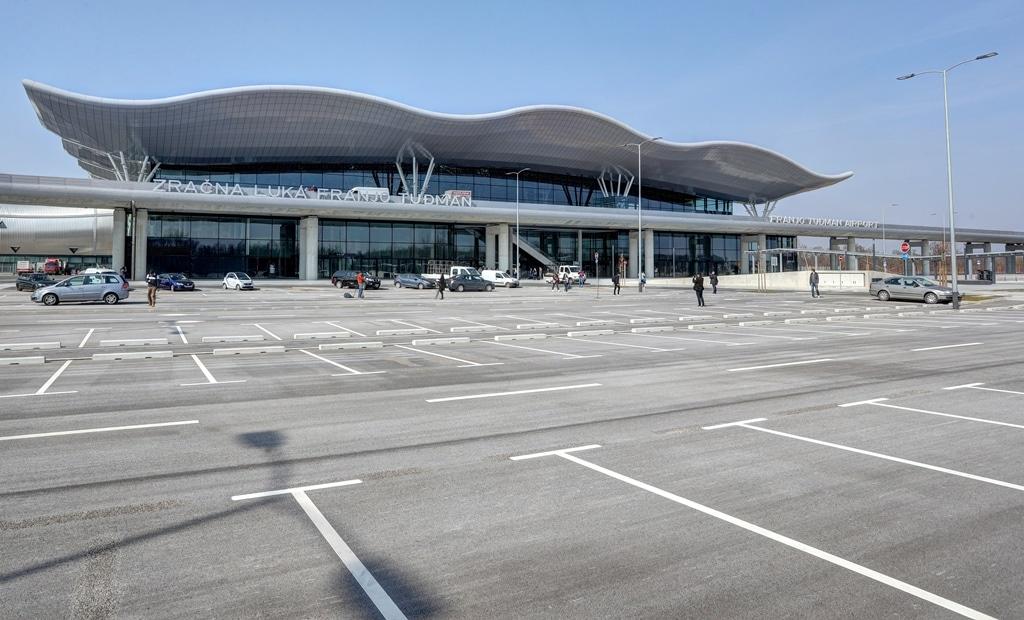 Como chegar à Croácia: aeroporto de Zagrebe