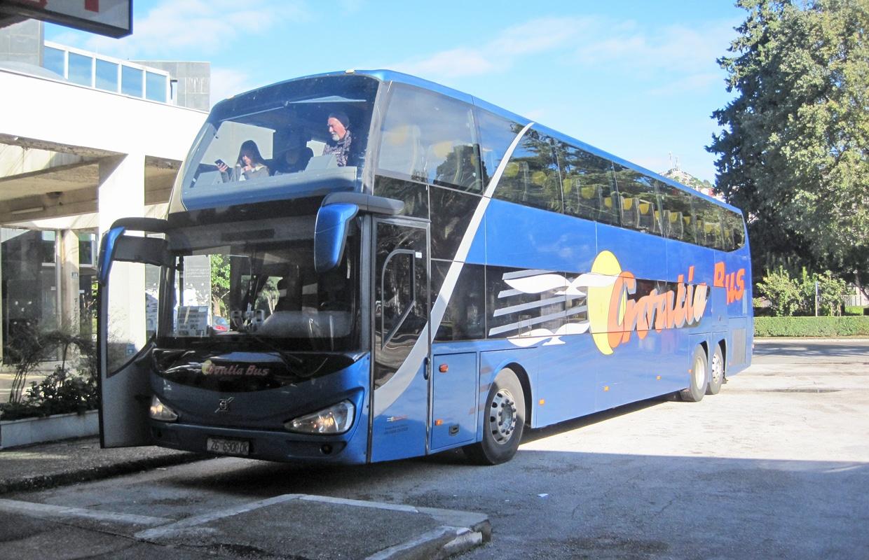 Como chegar à Croácia: ônibus