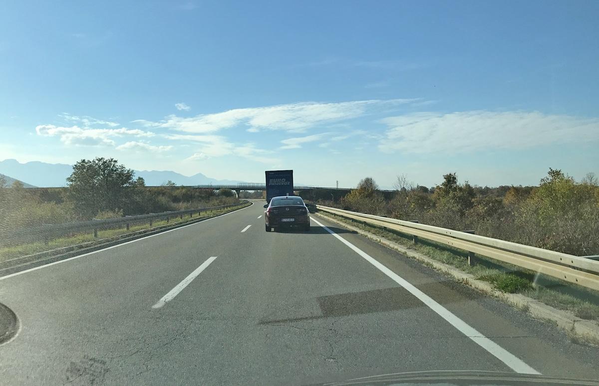 Como chegar à Croácia: estrada