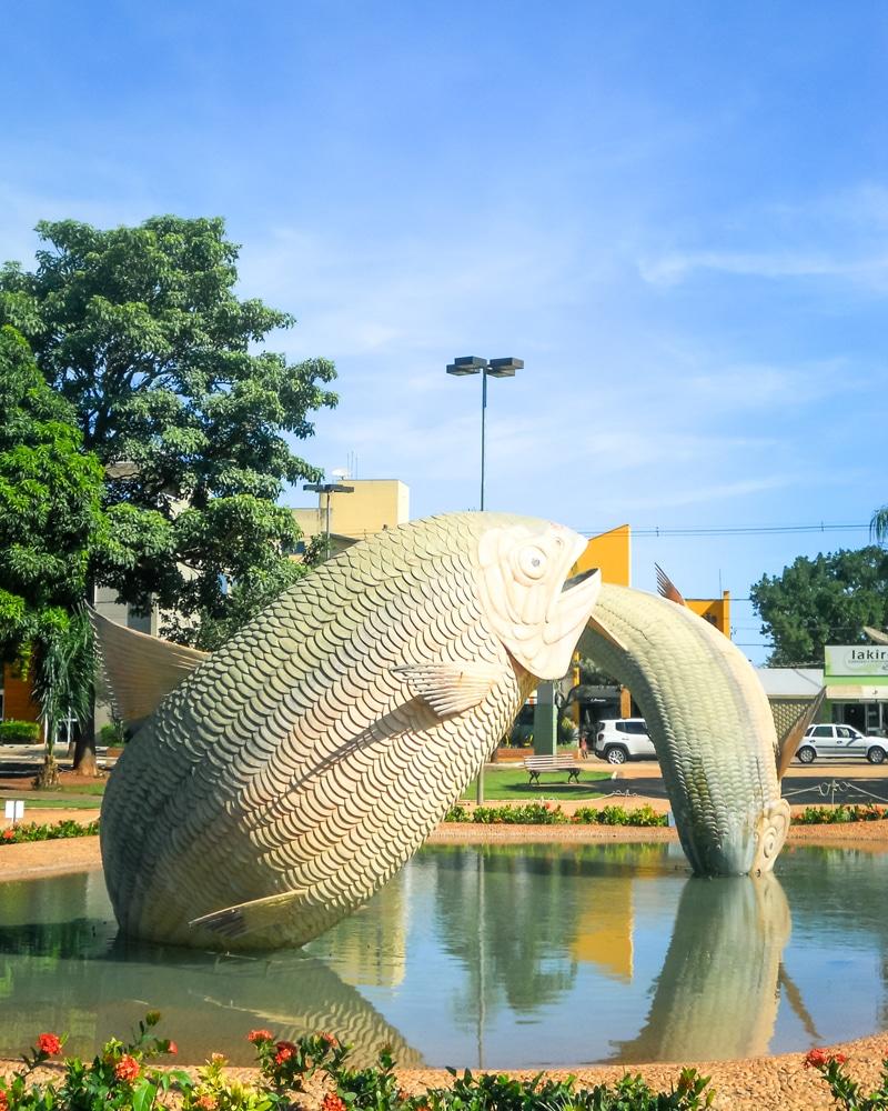 Onde ficar em Bonito: Praça da Liberdade
