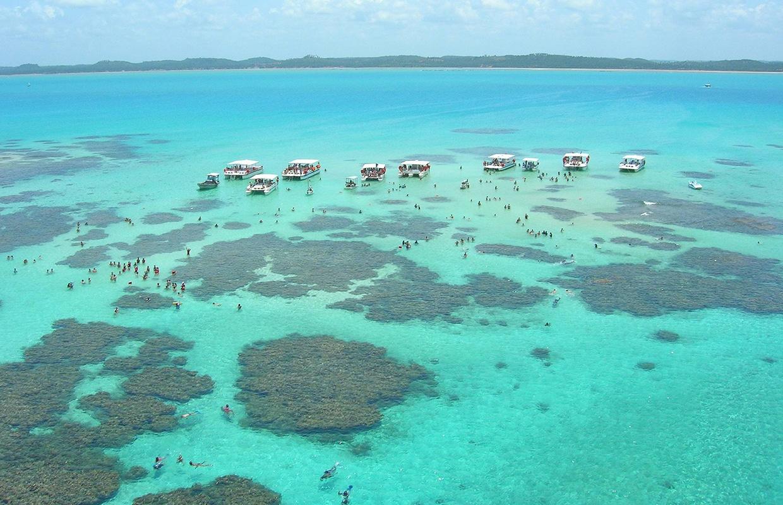 piscinas naturais de Maragogi