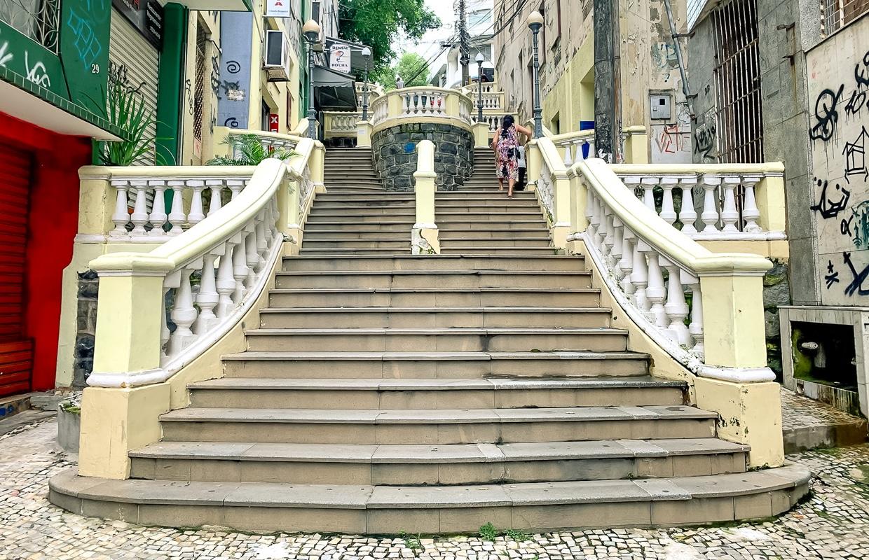 Memória Negra de Vitória, Espírito Santo: Escadaria Maria Ortiz